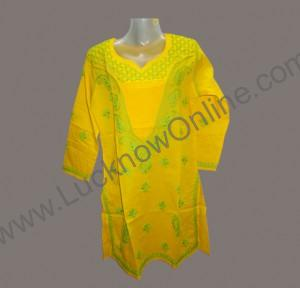 Ladies Top/ Kurti- Chikan